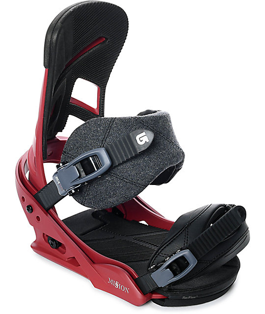 Burton Mission Brickyard Snowboard Bindings