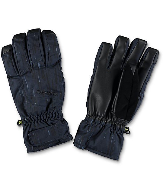 Burton Profile Rain Stencil Snowboard Under Gloves