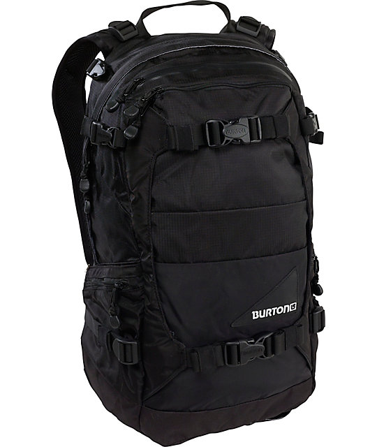 Burton Riders Black Snowboard Backpack