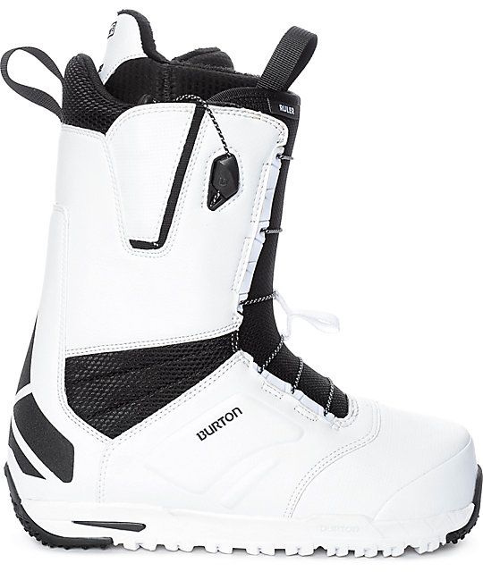 Burton Ruler White Speed Zone Snowboard Boots