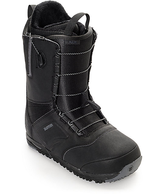 Burton Botas de snowboard Ruler, color negro, tamaño 9,5