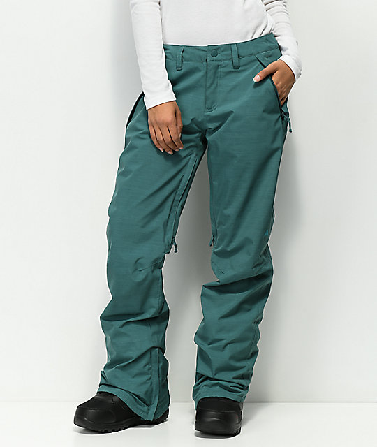 Burton Society Balsamic & Heather Snowboard Pants