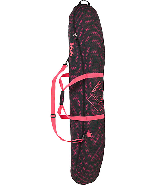 Burton Space Sack 166cm Dot Com 2012 Girls Snowboard Bag