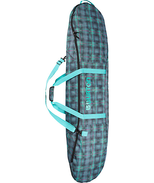 Burton E Sack Digi Plaid Snowboard Bag