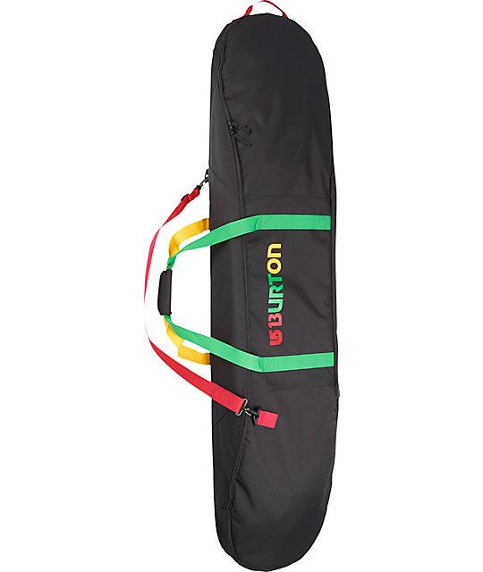 37016528448e5c Burton Space Sack Rasta Snowboard Bag | Zumiez