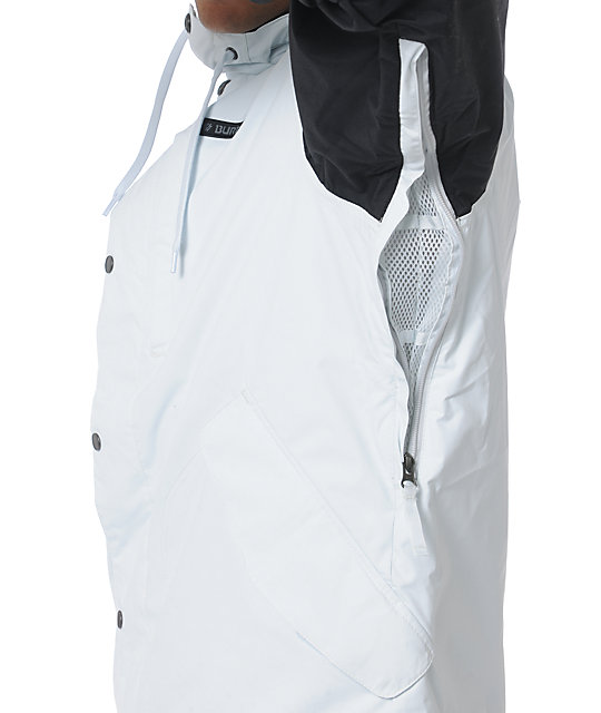 Burton TWC Throttle Black & White 10k Snowboard Jacket