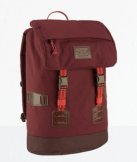Burton Tinder Fired Brick Ripstop 25L Backpack
