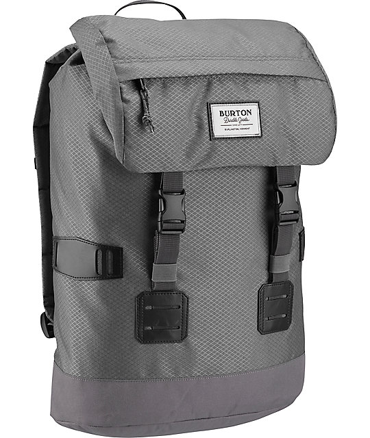 Burton Tinder Grey Faded Diamond Ripstop 25L Backpack