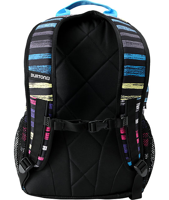Burton Treble Yell Palette Stripe Skate Backpack