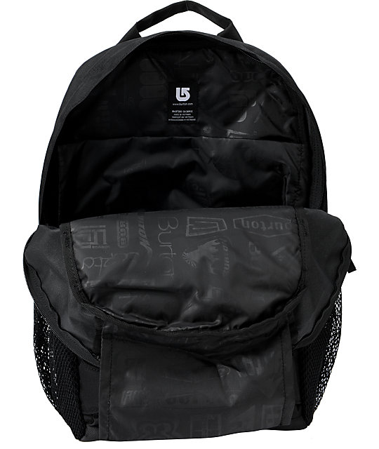 Burton Treble Yell True Black Skate Backpack