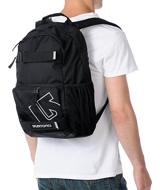 71e356e776 ... Burton Treble Yell True Black Skate Backpack