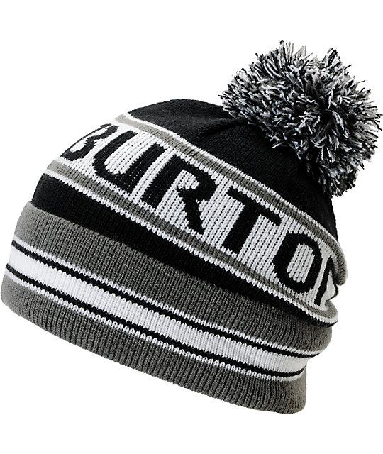 Burton Trope Black Pom Beanie  2e28d370e67