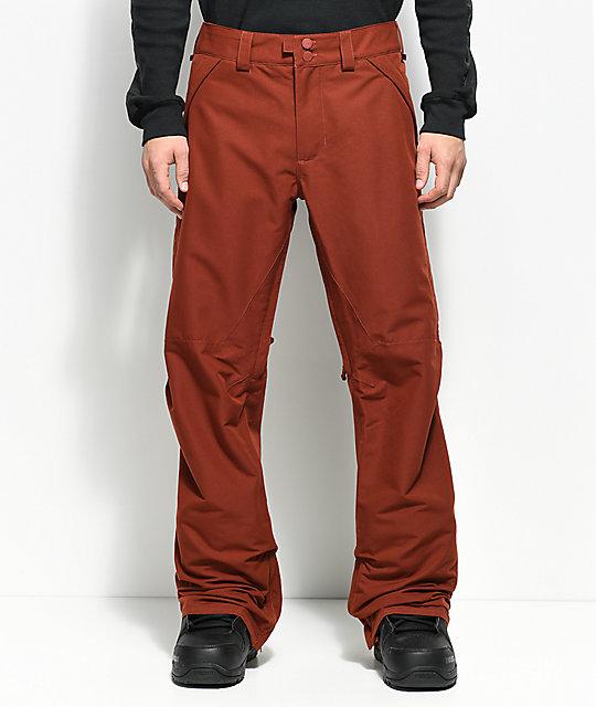 4e5335133c10 Burton Vent Fired Brick 20K Snowboard Pants