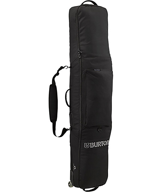 8b1ed4966a Burton Wheelie Gig Black Snowboard Bag