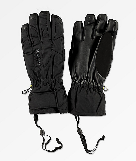Burton Women's Profile Under Glove Black Snowboard Gloves