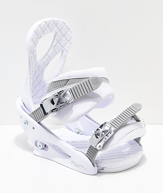 Burton Women's Stiletto Blanca Snowboard Bindings 2019