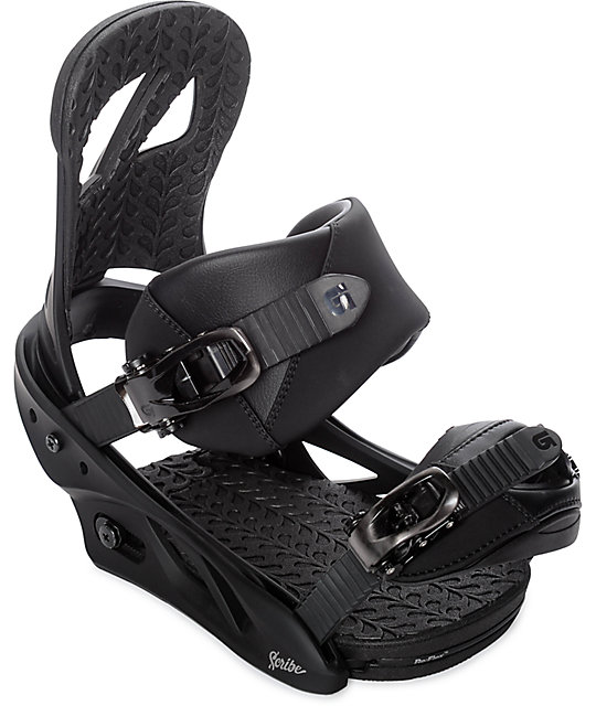 Burton Womens Scribe Black Snowboard Bindings