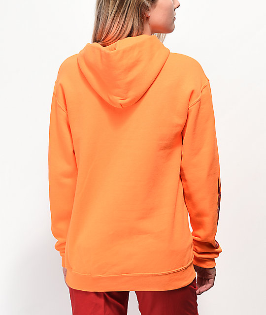 By Samii Ryan Hard To Please Orange Hoodie