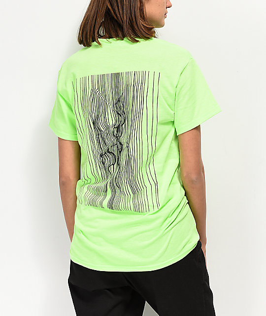 By Samii Ryan Love Potion Neon Green T Shirt by By Samii Ryan