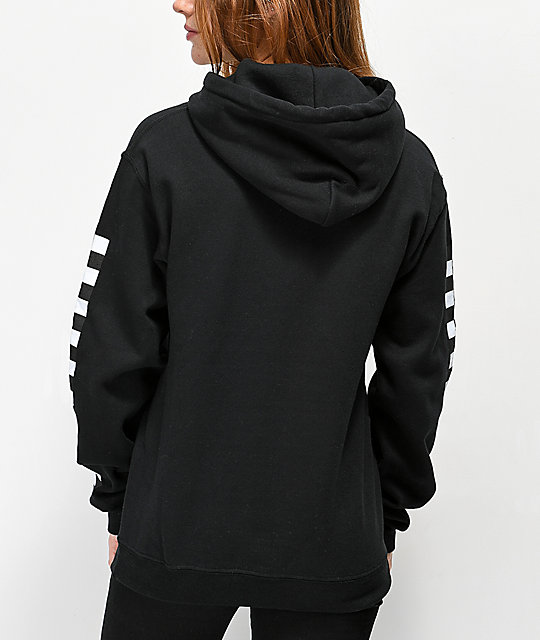 By Samii Ryan Too Fast For Love Black Hoodie