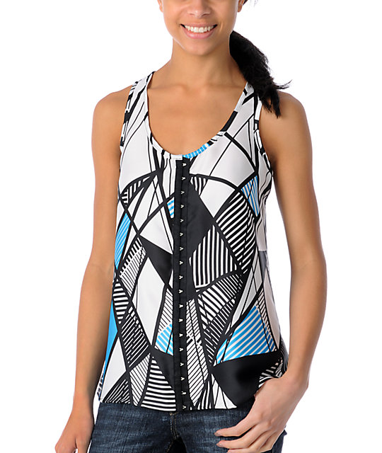 CDC Apparel East Coast Woven Tank Top