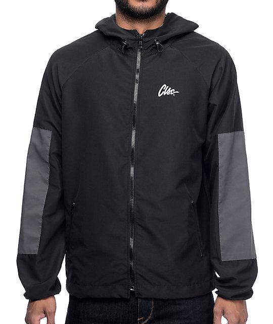 32ea95c377 CLSC Movement Black Windbreaker Jacket | Zumiez