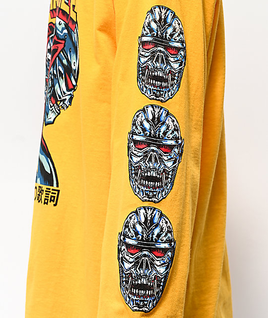 CZARFACE Comic Yellow Long Sleeve T-Shirt