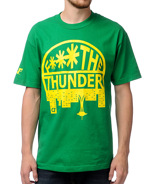 Cake Face F The Thunder Green T-Shirt
