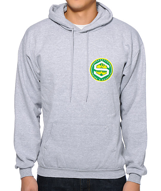 Cake Face Kings County Grey Pullover Hoodie