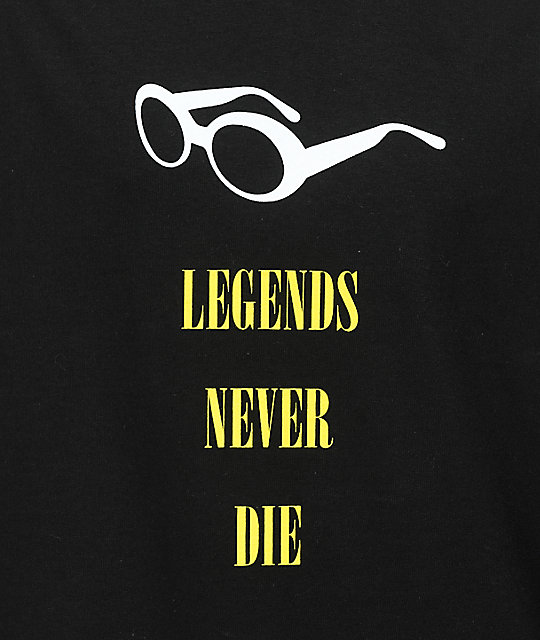 Cake Face PNW Legends Black T-Shirt