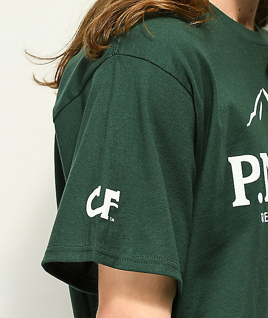 Cake Face PNW Since Birth camiseta verde