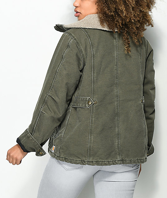 CarHartt Westly Olive Heavyweight Jacket