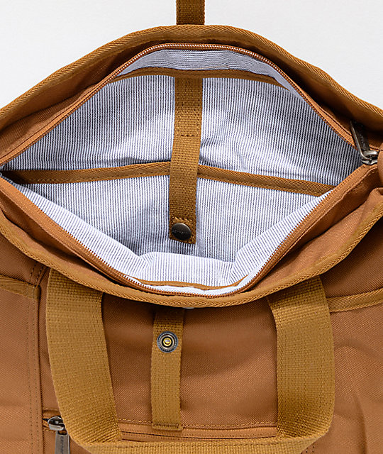 Carhartt Brown Hybrid Tote Backpack