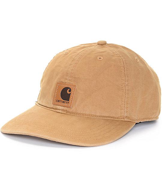 Carhartt Odessa Brown Cap  4d7cf450e3ec