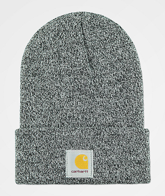 Carhartt Watch Black   White Beanie  61328b04a7c