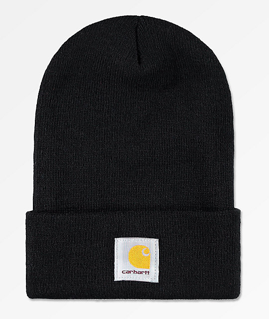 13b49461581 Carhartt Watch Black Beanie
