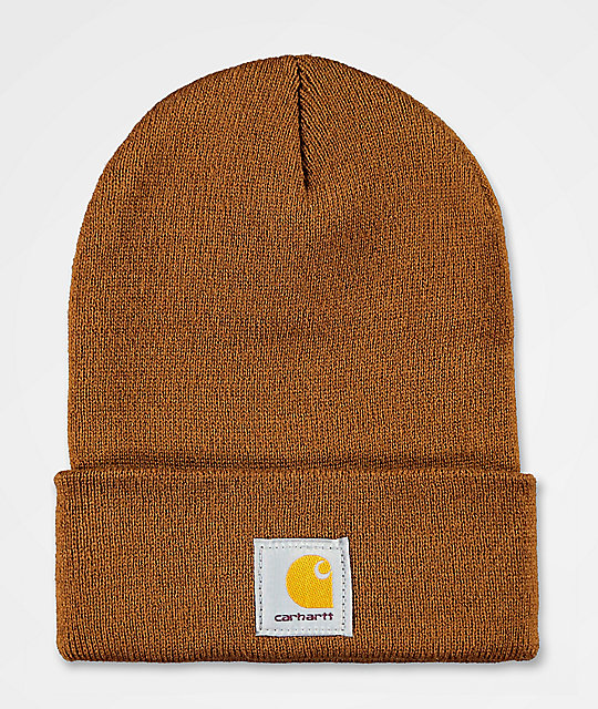 b29a72e250cb2 Carhartt Watch Brown Beanie
