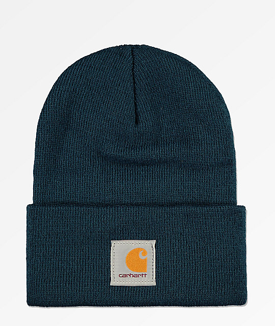 Carhartt Watch Dark Stream gorro azul