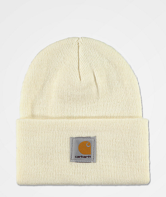 7390b746fce Carhartt Watch Winter White Fold Beanie