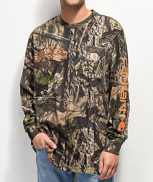 14bda1fc6cc Carhartt Workwear Mossy Oak Long Sleeve T-Shirt