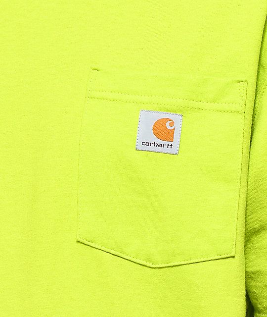 Carhartt Workwear Sour Apple Pocket T-Shirt