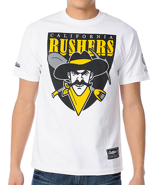 Cashletes California Rushers White T-Shirt