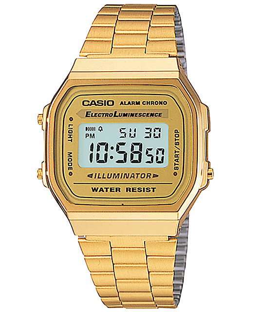 Casio A168WG-9 Vintage Gold Watch