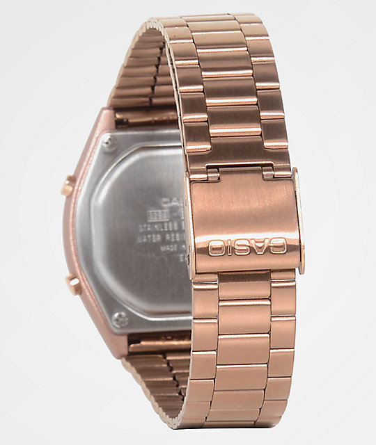 7bc1d3dbea3 ... Casio Vintage Rose Gold Digital Watch ...