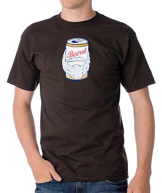 Casual Industrees Beerd Brown T-Shirt