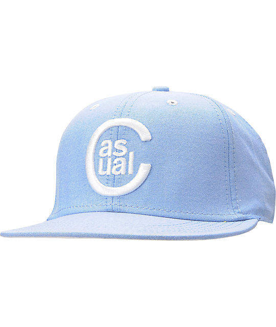 Casual Industrees C Logo Chambray Snapback Hat