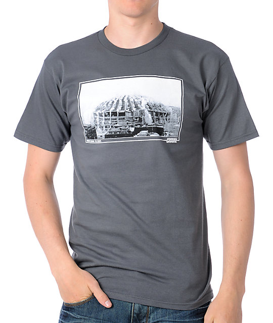 Casual Industrees Dome To Dust Grey T-Shirt
