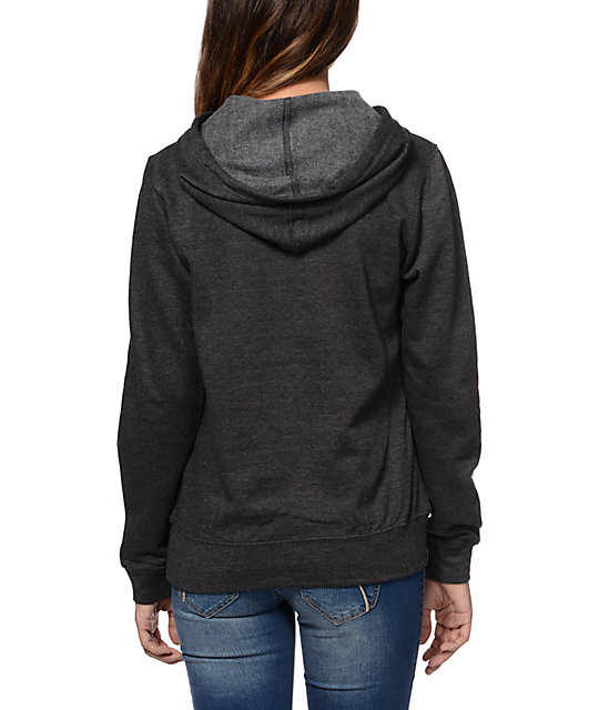 Casual Industrees El Johnny Tree Charcoal Pullover Hoodie