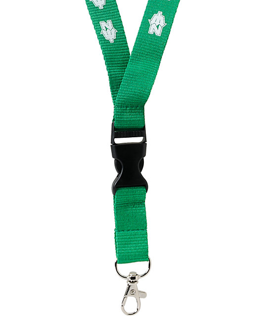Casual Industrees N Dub Green Lanyard
