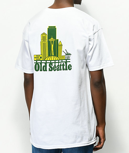 Casual Industrees Old Seattle camiseta blanca